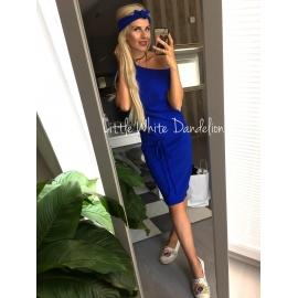 Kojo šaty s 3/4 rukávom - modré
