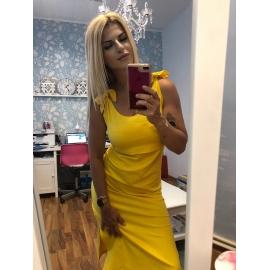 Lulu šaty - žlté