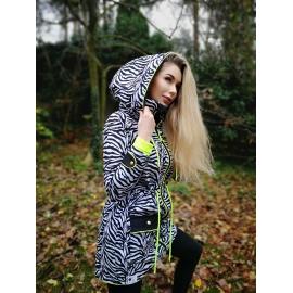 Softshell-zimná bunda Zebra