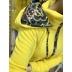 Žltá mikina ELZA
