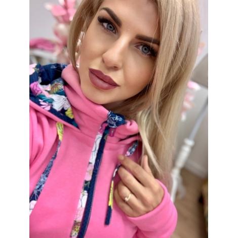 Ružová mikina Vanes