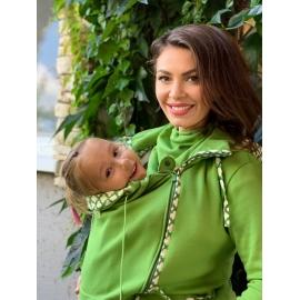 Zelená mikina Júlia