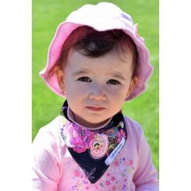 Detský obojstranný nákrčník v rôznych farbách